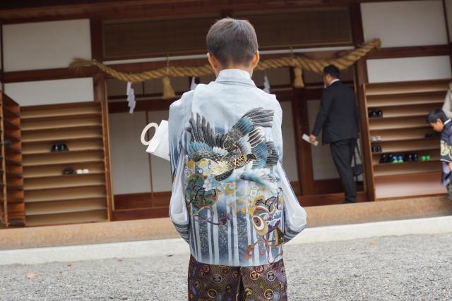 七五三の着付けにも時代の変化が!男児の袴に慣わしを入れて