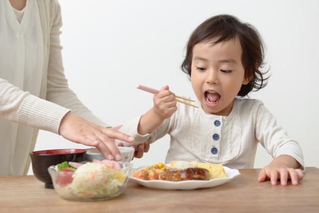 食事のマナー!正しい箸の持ち方を子供にしっかり伝えよう
