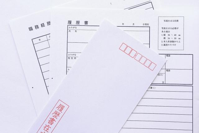 履歴書を封筒に入れる際のマナー!郵送・持参それぞれの場合