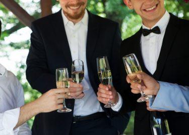 婚礼のシーンに着こなすおしゃれなネクタイ色をご紹介!